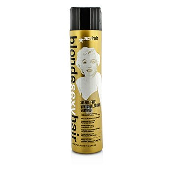 Sexy Hair Concepts Blonde Sexy Hair Bombshell Blonde Champú Libre de Sulfato (Preservador Diario de Color)  300ml/10.1oz
