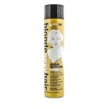 Sexy Hair Concepts Blonde Sexy Hair  Bombshell Blonde Acondicionador Libre de Sulfato (Preservador Diario de Color)  300ml/10.1oz
