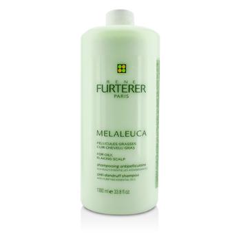 Rene Furterer Melaleuca Anti-Dandruff Shampoo (For Oily, Flaking Scalp)  1000ml/33.8oz