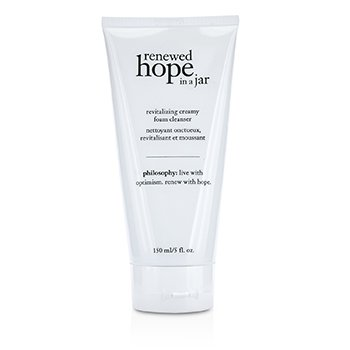 Philosophy Renewed Hope In a Jar Limpiador Espuma Cremosa Revitalizante  150ml/5oz