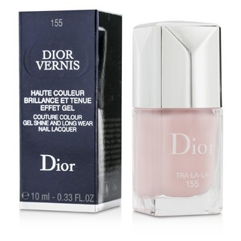 Christian Dior Dior Vernis Couture Colour Gel Shine & Long Wear Nail Lacquer - # 155 Tra La La  10ml/0.33oz