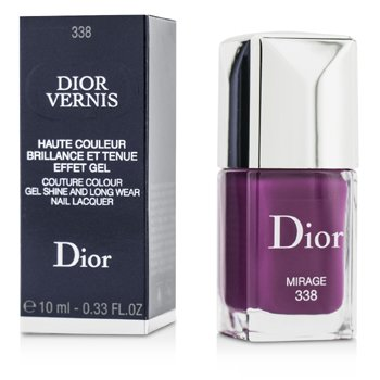 Christian Dior Dior Vernis Couture Colour Gel Shine & Long Wear Nail Lacquer - # 338 Mirage  10ml/0.33oz