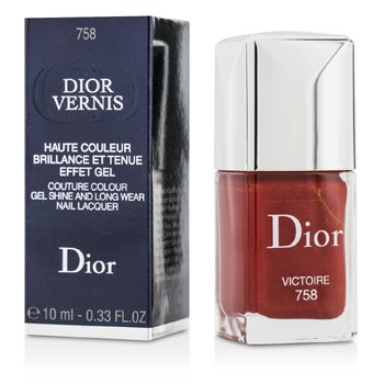 Christian Dior Dior Vernis Couture Colour Gel Shine & Long Wear Nail Lacquer - # 758 Victoire  10ml/0.33oz
