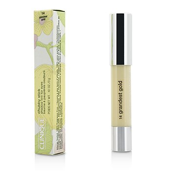 Clinique Chubby Stick Shadow Tint for Eyes - # 14 Grandest Gold  3g/0.1oz