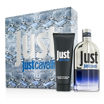 Roberto Cavalli Just Cavalli Him (New Packaging) Coffret: Eau De Toilette Spray 90ml/3oz + Gel Ducha 75ml/2.5oz  2pcs