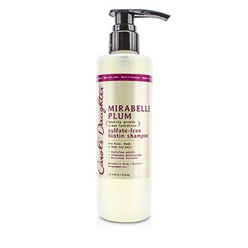 Carol's Daughter Mirabelle Plum Healthy Growth & Max Hydration Sulfate-Free Biotin Shampoo (For Fine, Weak & Very Dry Hair)  355ml/12oz