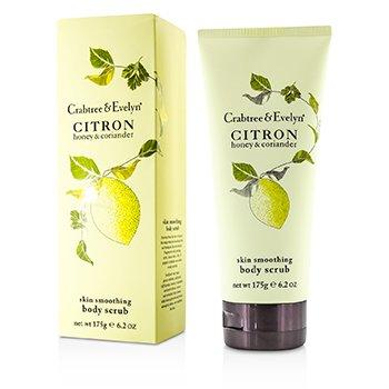 Crabtree & Evelyn Citron, Honey & Coriander Skin Smoothing Body Scrub  175g/6.2oz
