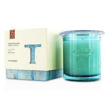 Thymes Świeca zapachowa Aromatic Candle - Aqua Coralline  284g/10oz