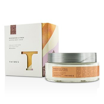 Thymes Rosewood Citron Whipped Body Cream - Krim Tubuh  190ml/6.5oz