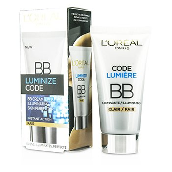 歐萊雅 Luminize Code Skin Perfector BB Cream SPF15 - # Fair  50ml/1.69oz