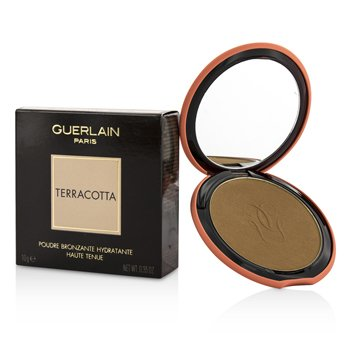 Guerlain Terracotta Bronzing Powder (With Silicone Case) - # 03 Natural Brunettes  10g/0.35oz