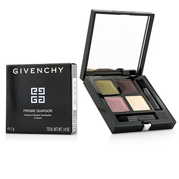 Givenchy Paleta czterech cieni do powiek Prisme Quatuor 4 Colors Eyeshadow - # 7 Tentation  4x1g/0.03oz