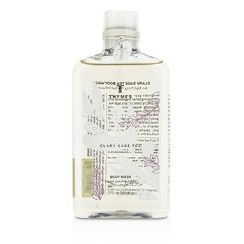 Thymes Clary Sage Tea Body Wash  270ml/9.25oz