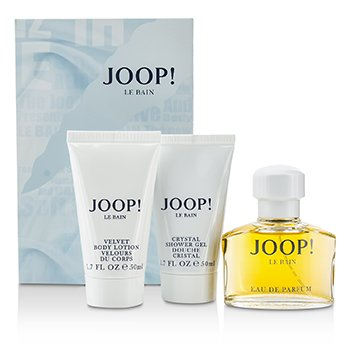 Joop! Zestaw Le Bain Coffret: Eau De Parfum Spray 40ml/1.35oz + Body Lotion 50ml/1.7oz + Shower Gel 50ml/1.7oz  3pcs