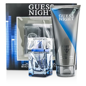 Guess Night Coffret: Eau De Toilette Spray 50ml/1.7oz + Shower Gel 200ml/6.7oz  2pcs