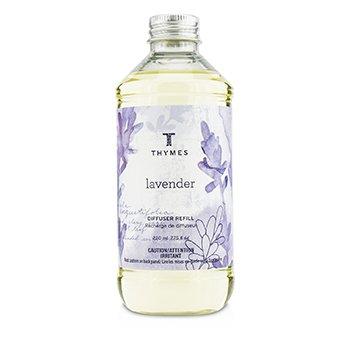 Thymes Difusor Aromático Refill - Lavender  230ml/7.75oz