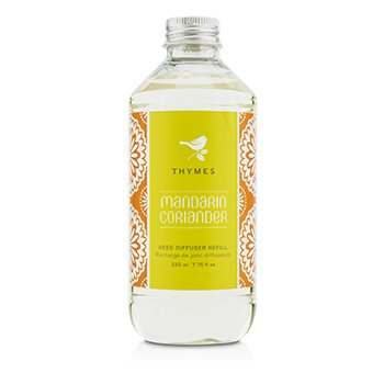 Thymes דיפוזר קנים ריפיל - Mandarin Coriander  230ml/7.75oz