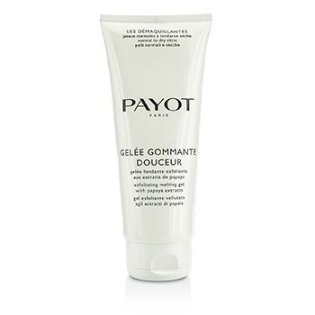 Payot Les Demaquillantes Gelee Gommante Douceur Exfoliating Melting Gel - Salon Size  200ml/6.7oz