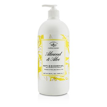 Caswell Massey Almond & Aloe Bath & Shower Gel  946ml/32oz