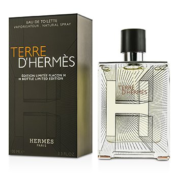 Hermes Terre D'Hermes Eau De Toilette Spray (2014 H Bottle Limited Edition)  100ml/3.3oz