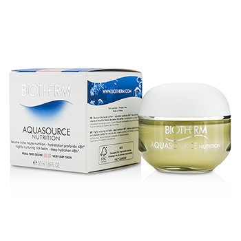 Biotherm Aquasource Nutrition Highly Nurturing Rich Balm - Deep Hydration 48h  50ml/1.7oz