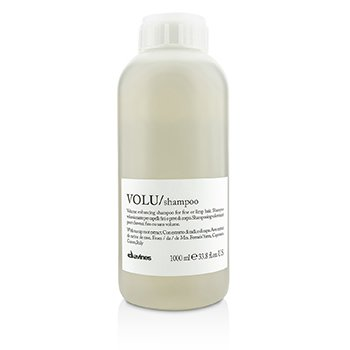 Davines แชมพู Volu Volume Enhancing Shampoo (สำหรับผมบางหรือผมลีบ)  1000ml/33.8oz