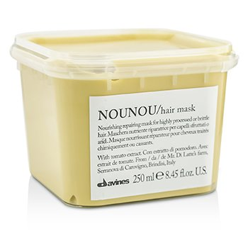 Davines มาสก์ซ่อมแซมผม Nounou Nourishing Repairing Mask (สำหรับผมผ่านสารเคมีหรือผมแตกหัก)  250ml/8.45oz