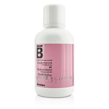 דוינס Balance Curling System Protecting Curling Lotion # 1 תחליב הגנה לתלתלים לשיער עמיד  500ml/16.9oz