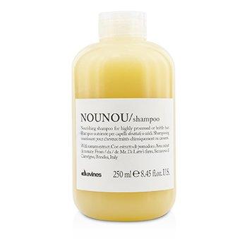 Davines แชมพู Nounou Nourishing Shampoo (สำหรับผมผ่านสารเคมีหรือผมแตกหัก)  250ml/8.45oz