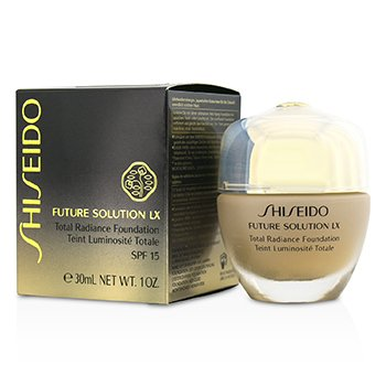 Shiseido Future Solution LX Total Radiance Base SPF15 - #I60 Natural Deep Ivory  30ml/1oz