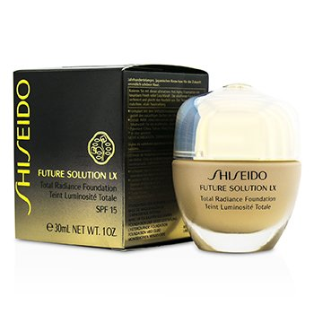 Shiseido Future Solution LX Total Radiance Base SPF15 - #O40 Natural Fair Ochre  30ml/1oz