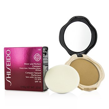 Shiseido Sheer & Perfect Compact Foundation SPF15 - #I60 Natural Deep Ivory  10g/0.35oz