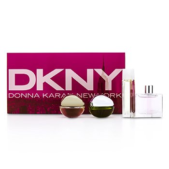 DKNY Kazeta miniatúr House Of DKNY: City, Be Delicious, Energizing, Golden Delicious  4pcs