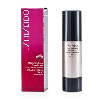 Shiseido Radiant Lifting Base SPF 17 - # D20 Rich Brown  30ml/1.2oz