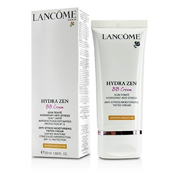 Lancome Hydra Zen (Crema BB) Crema Color Humectante  Anti Estrés SPF 15 - Medium  50ml/1.69oz