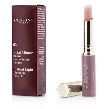 Clarins Pomadka do ust Eclat Minute Instant Light Lip Balm Perfector - # 03 My Pink  1.8g/0.06oz
