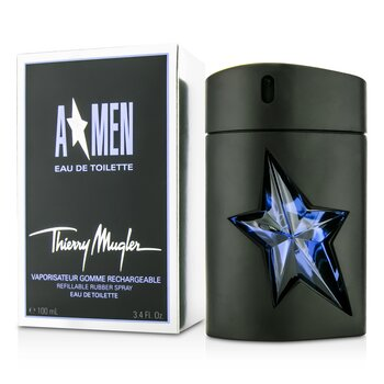 Thierry Mugler A*Men Gomme Rubber Flask Eau De Toilette  Spray  100ml/3.4oz