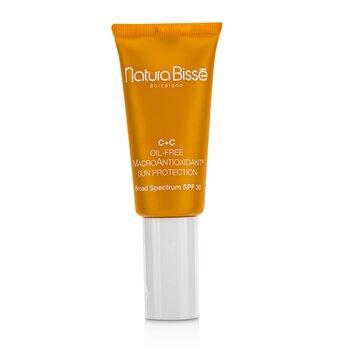 Natura Bisse C+C  Oil-Free MacroAntioxidant Sun Protcetion SPF 30  30ml/1oz