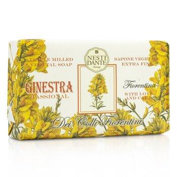 Nesti Dante Dei Colli Fiorentini Üç Kez Öğütülmüş Bitkisel Sabun - Broom  250g/8.8oz