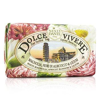 Nesti Dante Dolce Vivere Fine Natural Soap - Pisa - White Magnolia, Apricot Blossom & Lilium  250g/8.8oz