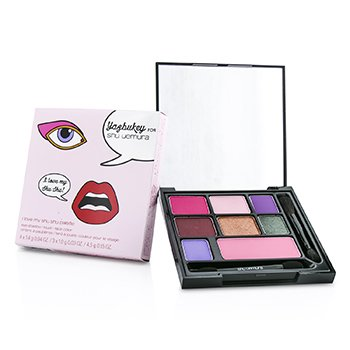 Shu Uemura Paleta I Love my Shu Shu  (Colecci�n Yazbukey Collection): 7xColor Ojos Compacto + 1xColor Mejillas  13.1g/0.44oz