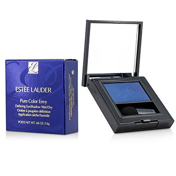 Estee Lauder Pure Color Envy Defining EyeShadow Wet/Dry - # 04 Blue Fury  1.8g/0.06oz