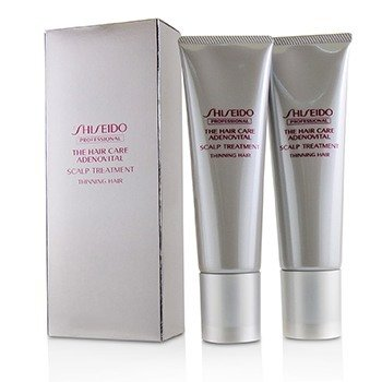 Shiseido The Hair Care Adenovital Scalp Treatment (For Thinning Hair)  2x130g/4.4oz