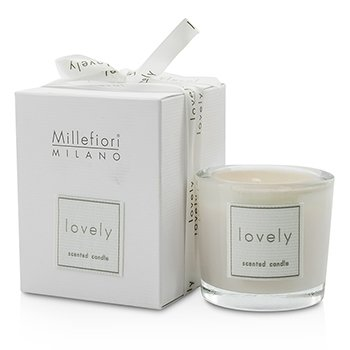 Millefiori Lovely Candle In Bicchiere - Arancione  60g/2.11oz
