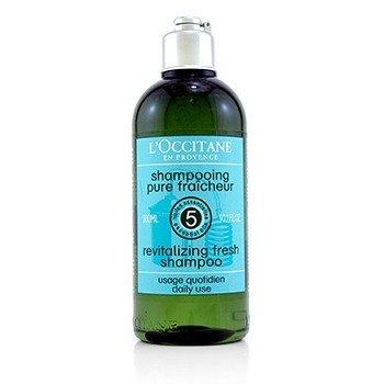 L'Occitane Shampoo Refrescante Revitalizante Aromachologie (Uso Diário)  300ml/10.1oz