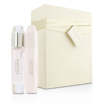 Burberry Body Tender szett: Eau De Toilette spray 60ml/2oz + testápoló tej 100ml/3.3oz  2pcs