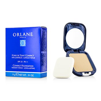Orlane Base Compacta SPF22 (Raidant Finish/Long Lasting) - #03 Champagne  9g/0.31oz
