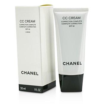 Chanel CC Cream Complete Correction SPF 50/PA++++ # 20 Beige  30ml/1oz