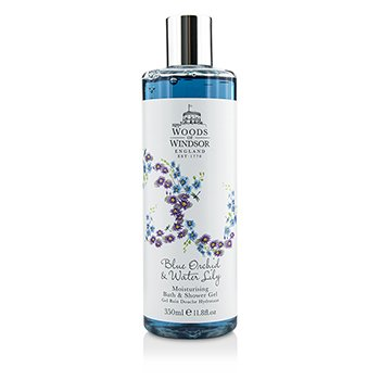 Woods Of Windsor Blue Orchid & Water Lily  Gel Humectante Baño & Ducha  350ml/11.8oz
