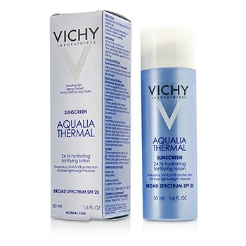Vichy Aqualia Thermal 24Hr Hydrating Fortifying Lotion SPF 25 - For Normal Skin  50ml/1.6oz